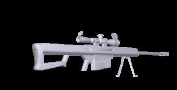 50. Cal Barrett 3D model