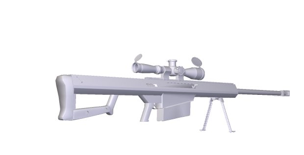 50. Cal Barrett 3D model