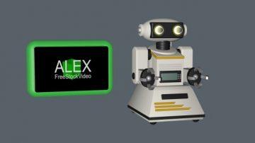 80s 3D Robot