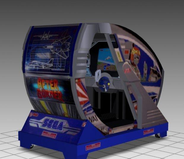 After Burner Sitdown Arcade Machine Downloadfree3d Com