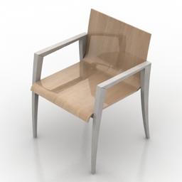 Armchair 3d gsm model