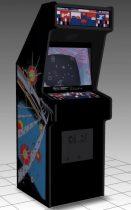 Asteroids Upright Arcade Machine 3D model