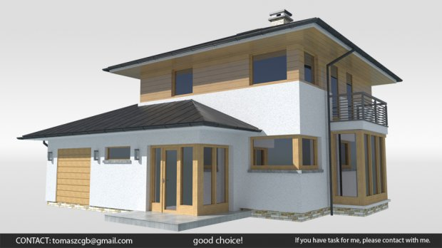 Bambo House. Bambo House 3D Model