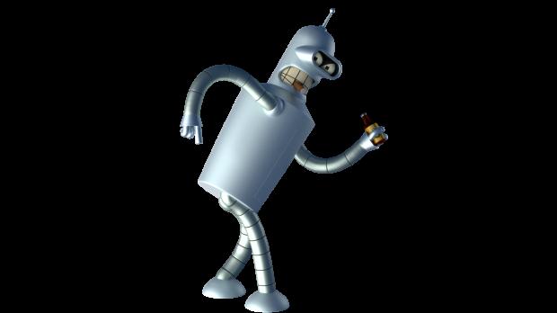 Bender Futurama Rig Free 3d Models