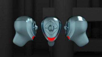 Big Trap the robot head 3D model