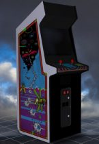Black Widow Upright Arcade Machine 3D model