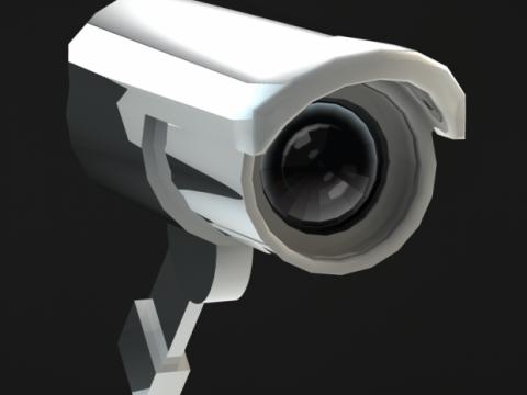 CCTV Camera 3D model