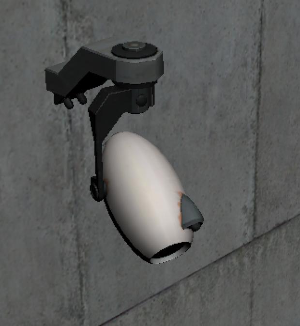 Camera Portal 3D model