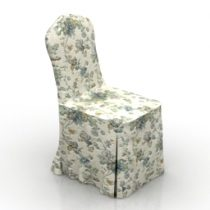 Chair cover 3d model