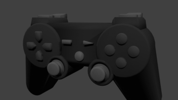 Console Game Controller 3D model