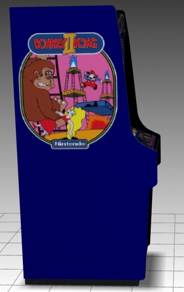 Donkey Kong Ii Upright Arcade Machine Downloadfree3d Com