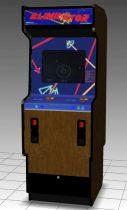 Eliminator Upright Arcade Machine 3D model