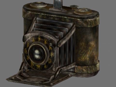 Fatal frame 2 camera obscura 3D model