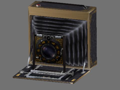 Fatal frame camera obscura 3D model
