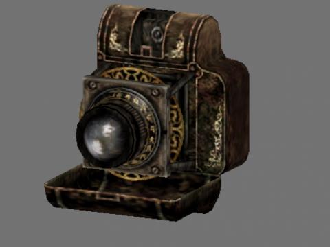 Fatale frame 2 camera obscura 2 3D model