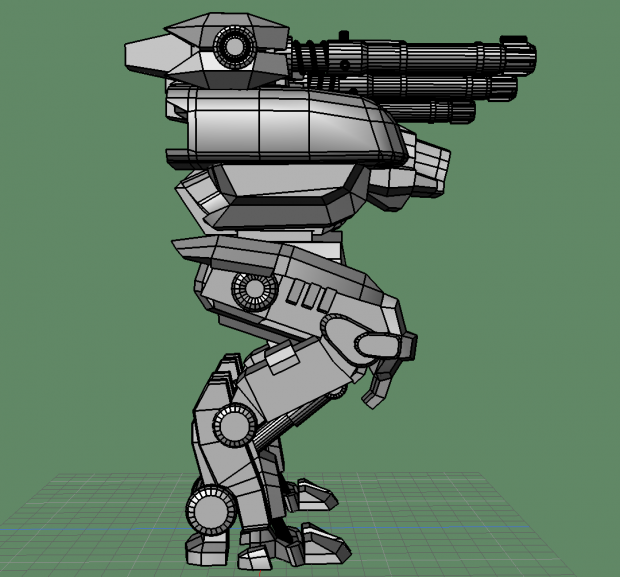 Fury War Robot Free 3d Models