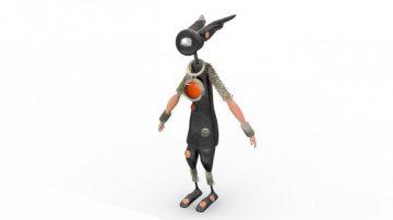 G robot 3D model