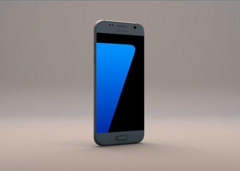 Galaxy S7 3Dmodel