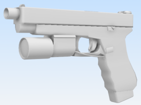 Glock 34 3D model