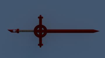 Grape Sword - Adventure Time 3D model