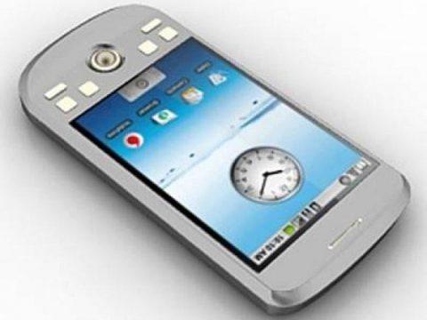 HTC mobile phone 3D model