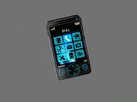 Harry mobile phone 3D model