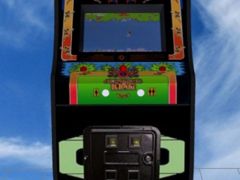 Jungle King Upright Arcade Machine 3D model