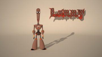 Larry 3D model