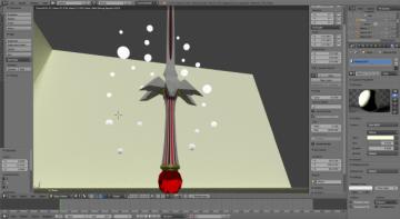 Legand Rose Blade 3D model