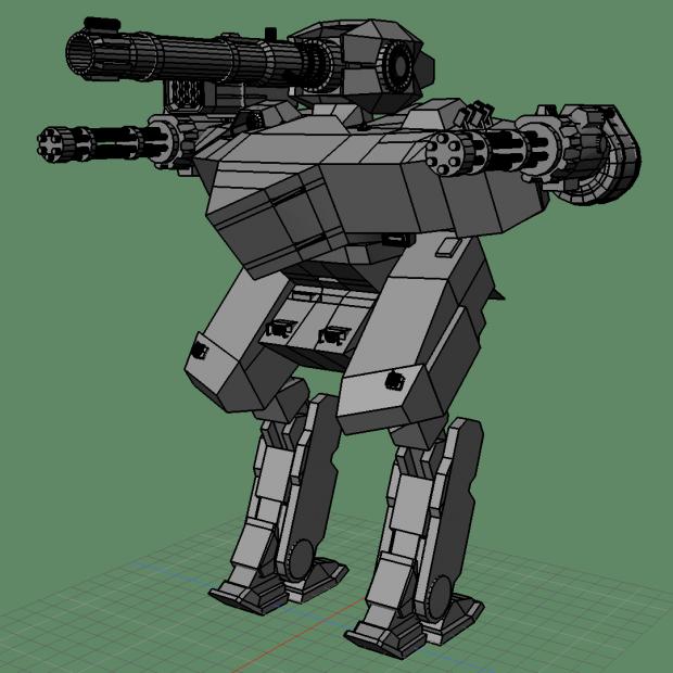 Leo War Robot Free 3d Models