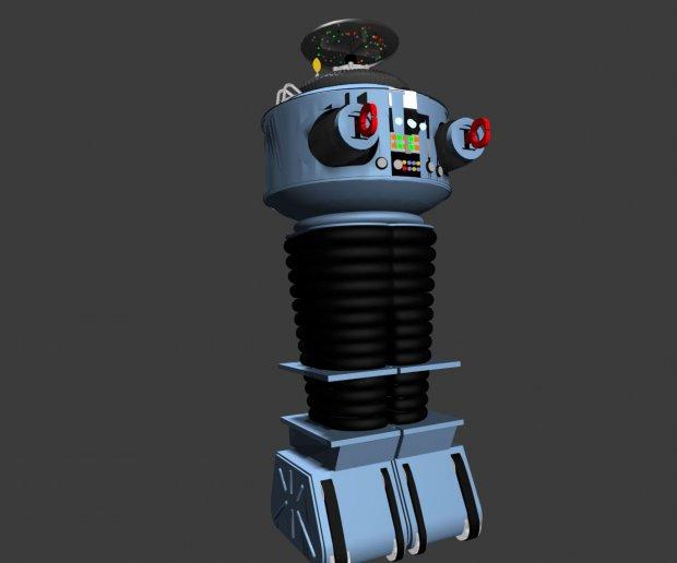 Lost In Space Robot Downloadfree3d Com