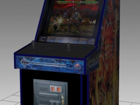 Mace Upright Arcade Machine