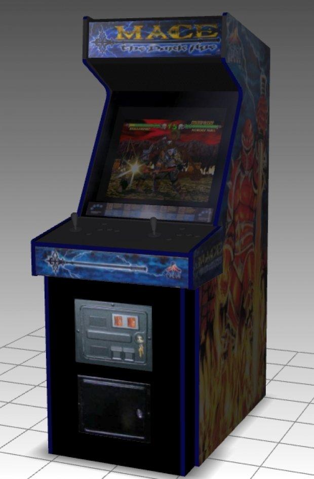 Mace Upright Arcade Machine