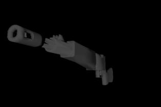 Makeshift Rifle 3D model