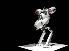 Mars Ground fighter 3D model