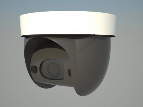 Modern 2015 Surveillance Camera 3D model