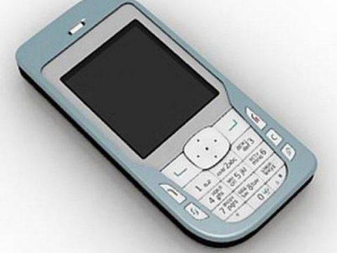 Nokia 6670 mobile phone 3D model