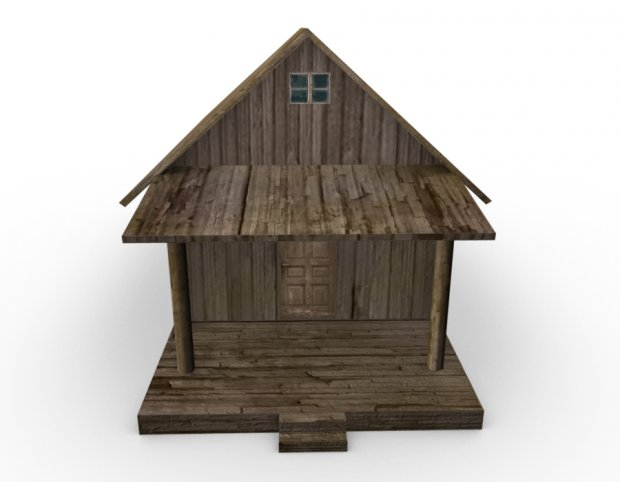 Old Farm House Downloadfree3d Com