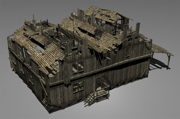 Old House Free 3d Models