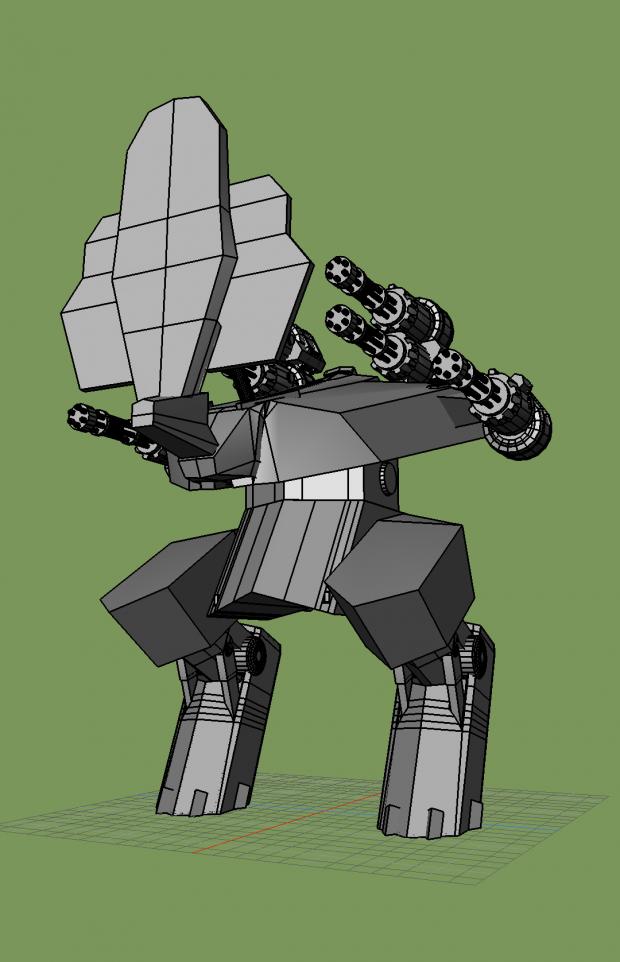 Rhino War Robot Downloadfree3d Com