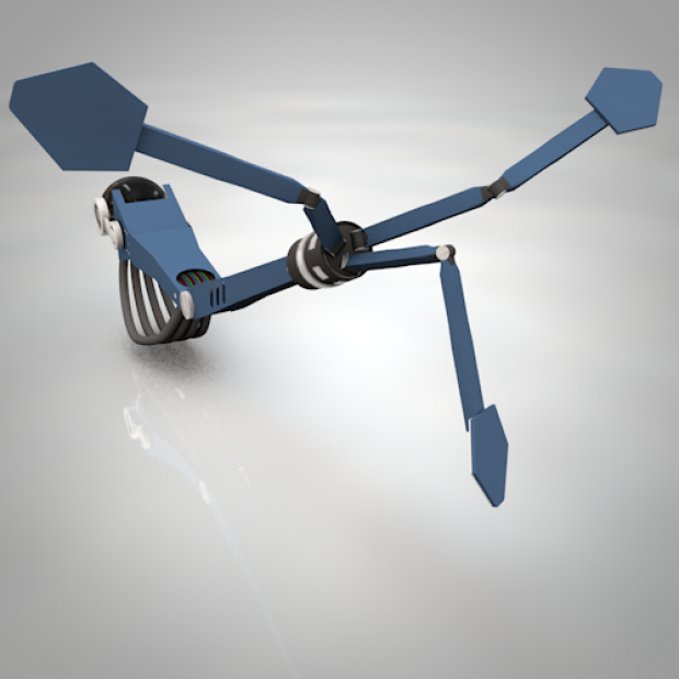 Rigged Robot Arm | Free 3D models