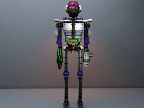 Robo De Guerra 3D model