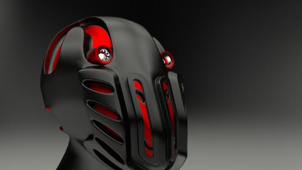 Robot Head Downloadfree3d Com