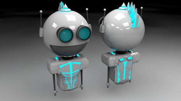 Robot Jasubot Pro01 Free 3d Models