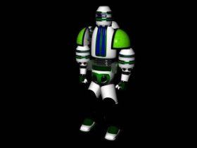 Robot next 3D model