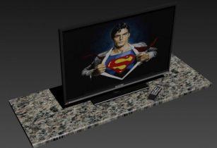 SINOTEC 42 3D TV 3D model