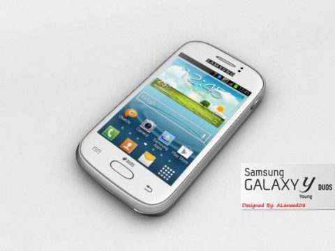 Samsung Galaxy Young 3D model