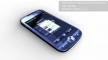 Samsung Omnia II 3D model