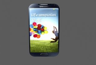 Samsung S4 Mobile Phone 3D model
