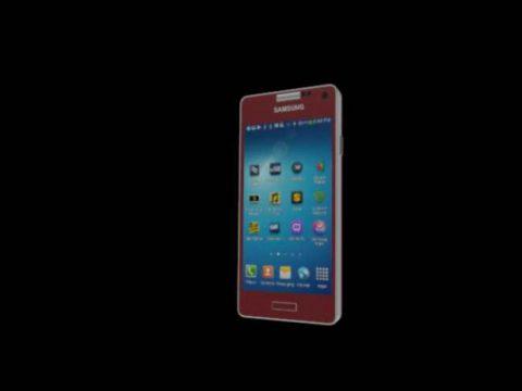 Samsung S4 mini 3D model
